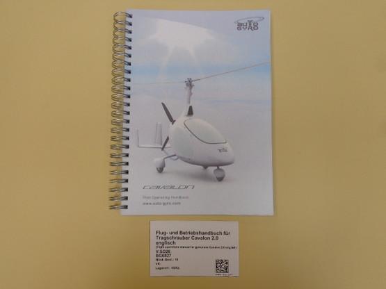 Flight operations manual for gyroplane Cavalon english